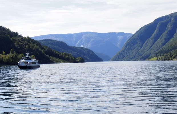 Ferry de Ulvik a Eidfjord