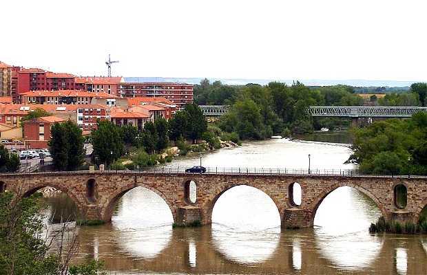 Ponte di pietra a Zamora