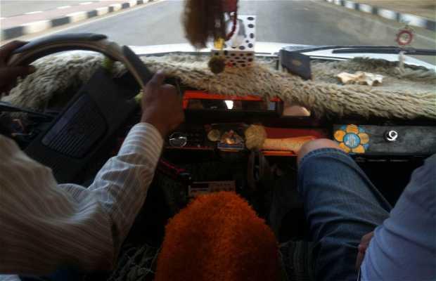 En taxi por Asuán