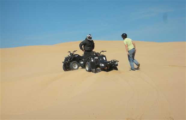 Quads por las dunas de Essaouira