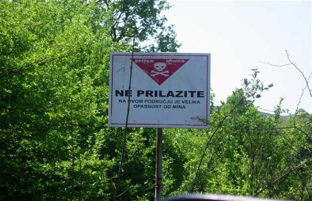 Road between Slunj and Ogulin