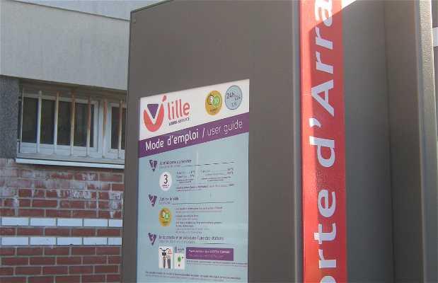 Bicis en alquiler V'Lille