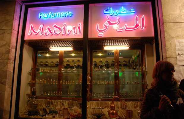 Profumeria Madini a Tangeri