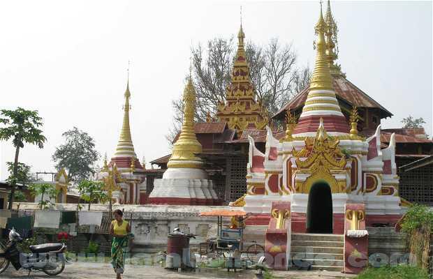 Nyaung Shwe, lac Inle