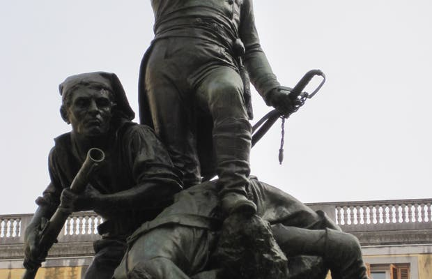 A los defensores de Gerona el 1808 y 1809