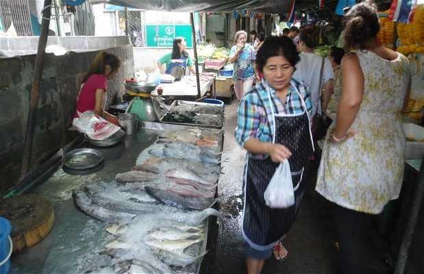 Le petit marché chinois de Bangkok
