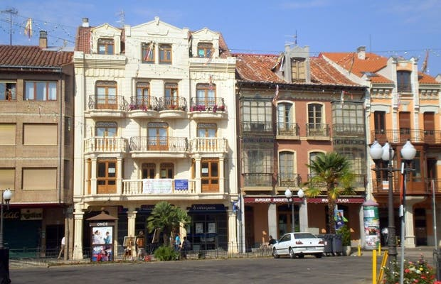 Plaza Mayor de La Bañeza