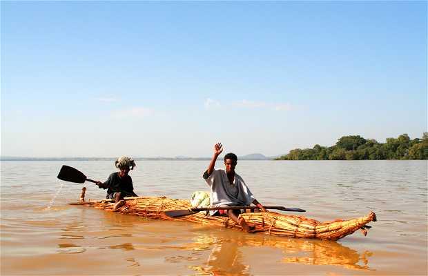 Pescadores del Lago Tana