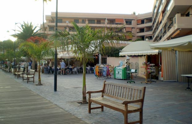 Los Cristianos seafront