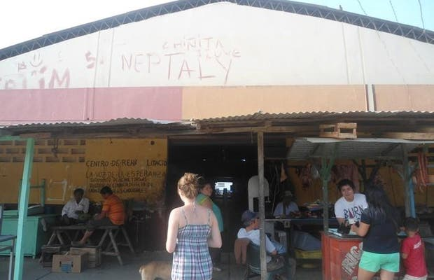 El mercado de Puerto Lopez