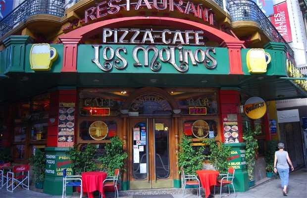 Bar y Pizzería Los Molinos (barrio de la Recoleta)