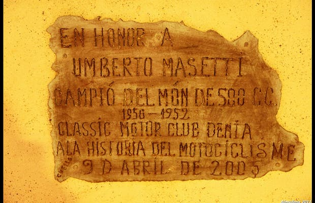 Umberto Masetti Monument