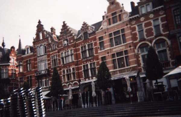 Casas típicas belgas