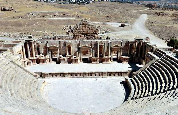 Teatro Sud di Jerash