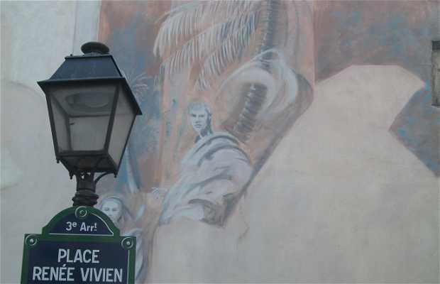 Plaza Renée Vivien