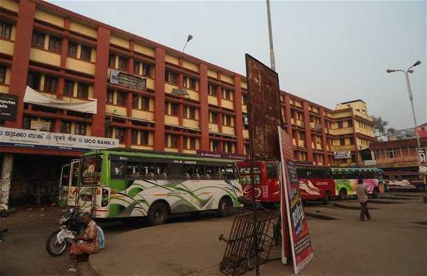 La gare des bus de Calicut