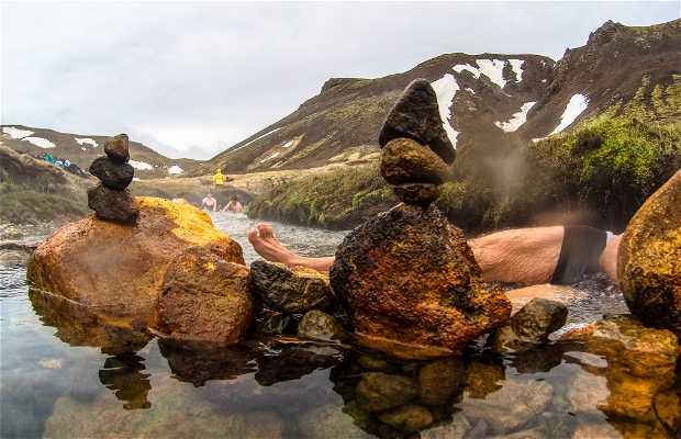 Rivière d'eau chaude