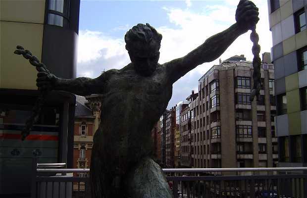 Sculpture Libertad
