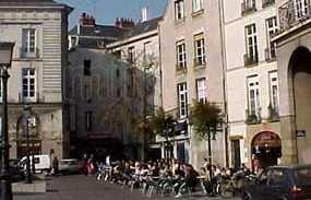 Quartiere di Bouffay a Nantes
