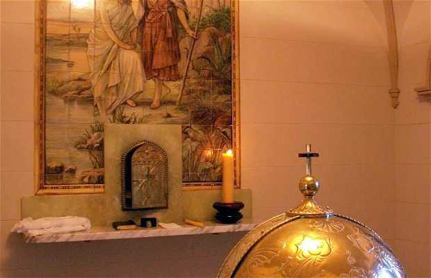 Cripta de Nuestra Señora de Lourdes
