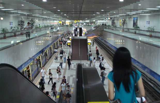 Le metro de Taipei