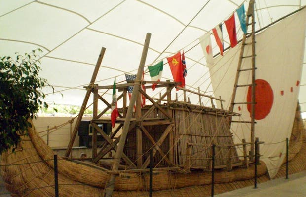 Sala di Navigazione Primitiva a Guimar