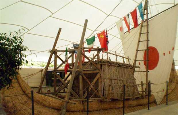 Salle de navigation primitive