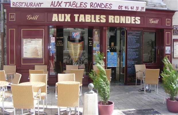 A las mesas redondas