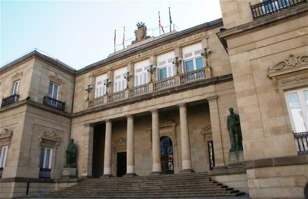 Palacio de la Diputacion Foral de Alava