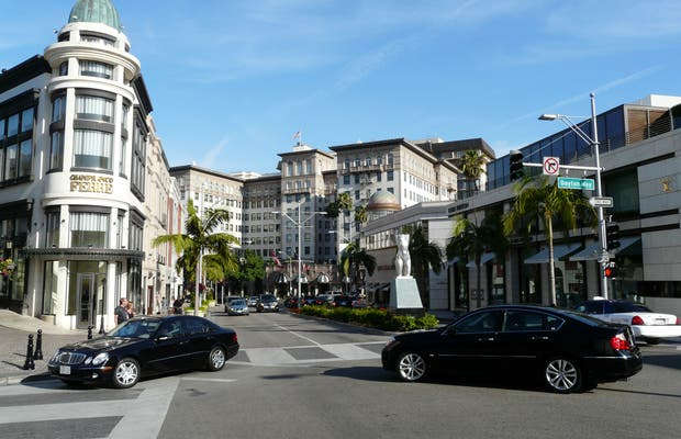 Rodeo Drive a Beverly Hills