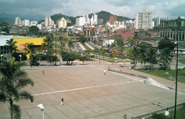 Plaza cívica ciudad Victoria