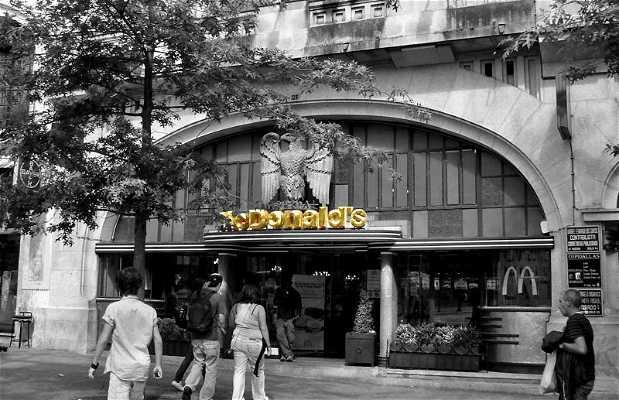 Mc Donald's Aliados (antigo Café Imperial)