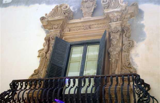 Pappalardo o Palazzo Milo, Baroni della Salina