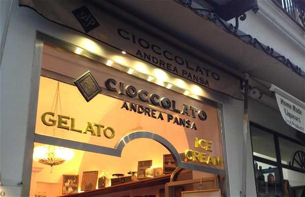Cioccolato Andrea Pansa