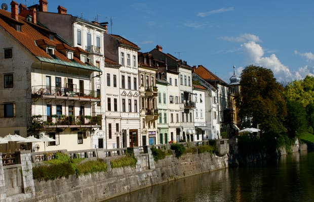 Docks of Ljubljana