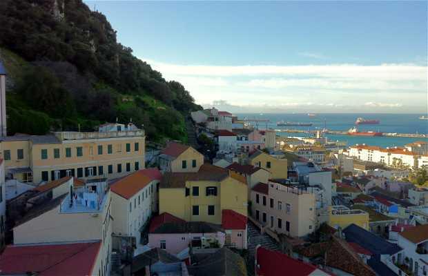 Les rues de Gibraltar