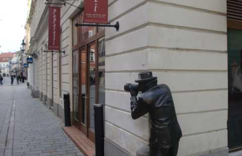 Statues insolites de Bratislava