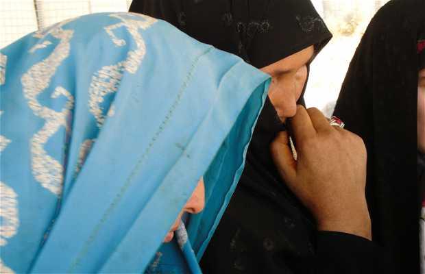 Des femmes et des enfants afghans