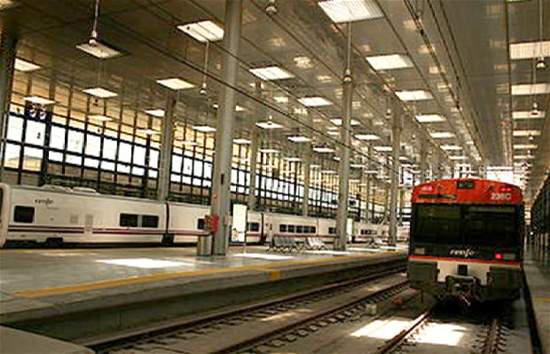 Estación Ferroviaria de Cádiz