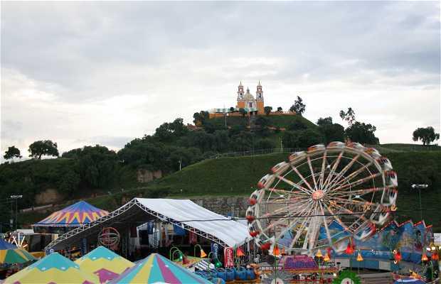 Feria en Cholula