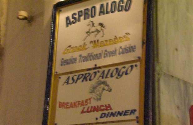 Aspro Alogos