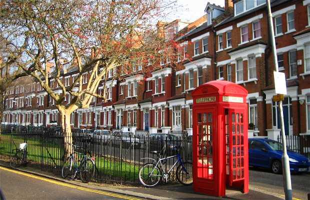 Belsize Park a Londra
