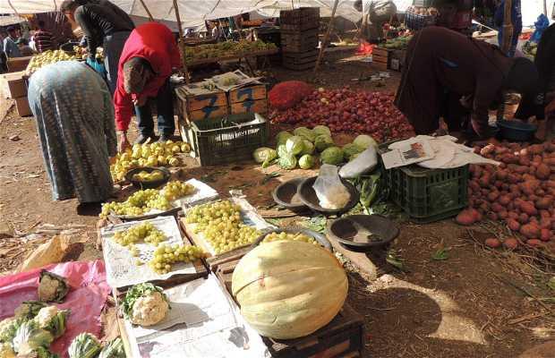 Souk Hebdomadaire Mardi - Mercado de las verduras