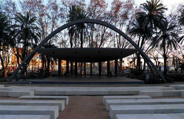 Auditorio Municipal Eduardo Ocón (Paseo del Parque en Málaga)