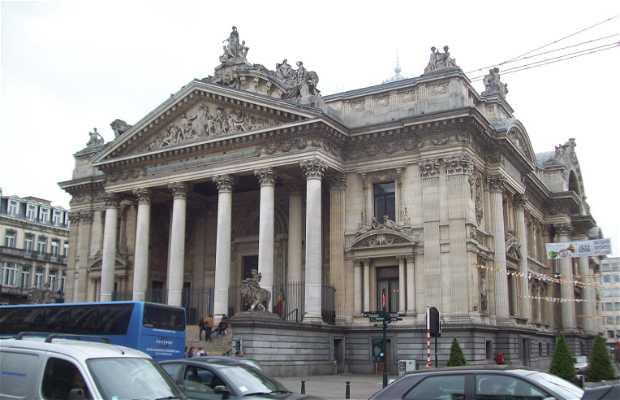 La Bolsa de Bruselas