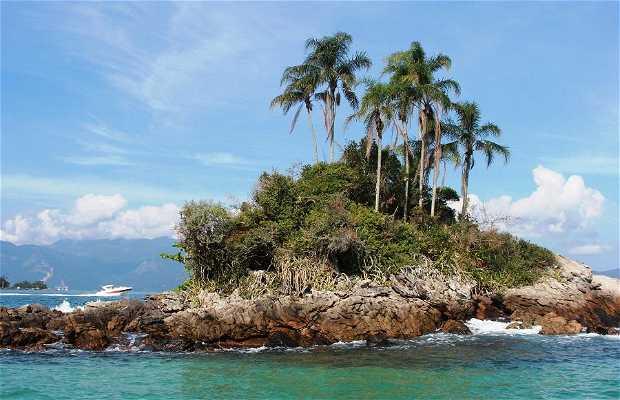 Paseo de barco por las islas y playas de Angra dos Reis