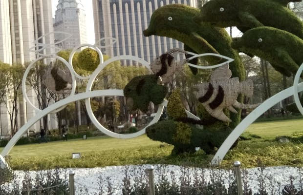 Garden square Shangai