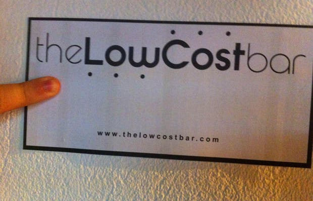 The Low Cost Bar