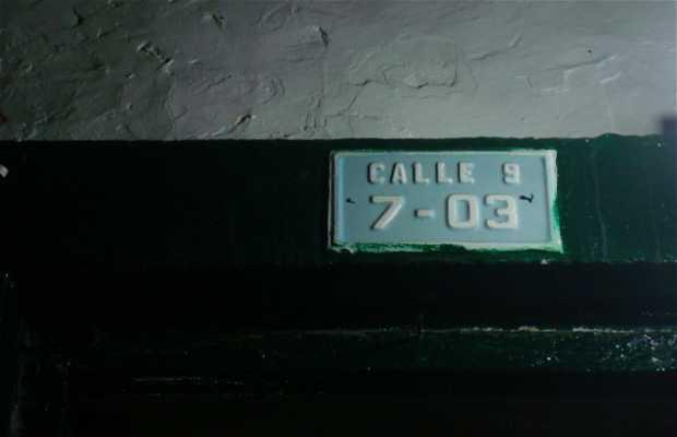 La casa vieja, Curití, Colombia