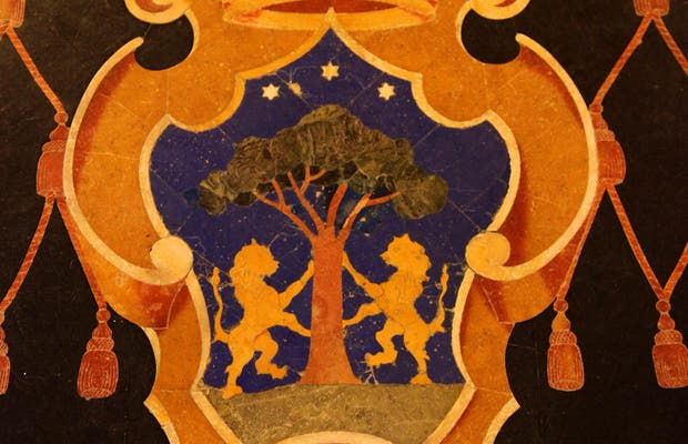 Pierres tombales de la cathédrale de Mdina